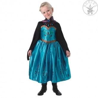 Kostýmy - Elsa Coronation Dress Frozen Child - korunovačný kostým