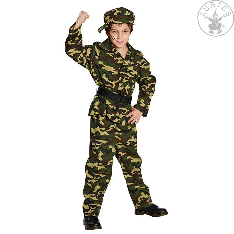 ec48691a1 Vojak - kostým s čiapkou - 164 - Karneval-party.sk