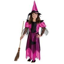 Polnočná čarodejnica ružová s klobúkom