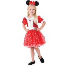Kostým Minnie M Red Puff Ball  - licenčný kostým
