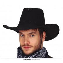 Kovbojský klobúk čierny