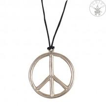 Náhrdelník - Peace priem . 6,5 cm