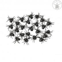 24 malých pavúkov