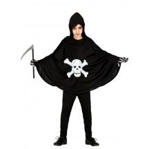 Tunika - plášť so smrtkou 5 - 6 rokov