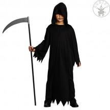 Čierny habit s kapucňou