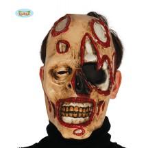 Maska zombie so škvrnami