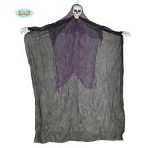 Závesné strašidlo čierne - skeleton