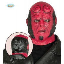 Latexová maska Hellboy