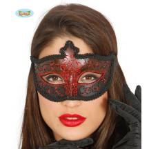 Maska dámska červená