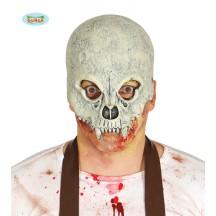 Maska lebka so zubami