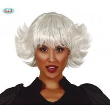 Biela dámska parochňa Nina