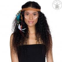 Indiánska čelenka pletená