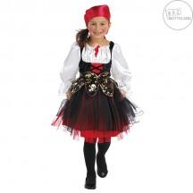 Pirátsky kostým detský s šatkou na hlavu - VADA