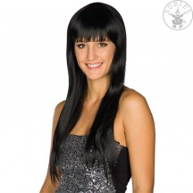 Heat Styling Wig - Pony Cut black