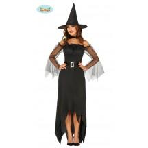 Kostým čarodějnice s tylovými rukávy VADA