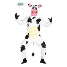 Čiernobiela krava - kostým