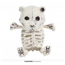 Kostra medvítka 18 cm - halloween